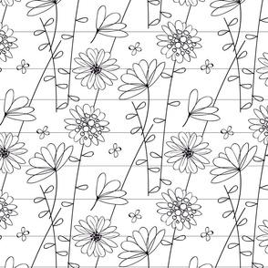 Floral Lines