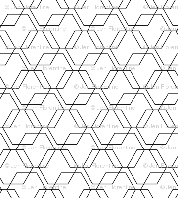 Hexagon Lines