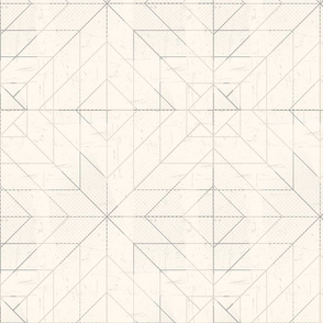 Geometric Lines Cream