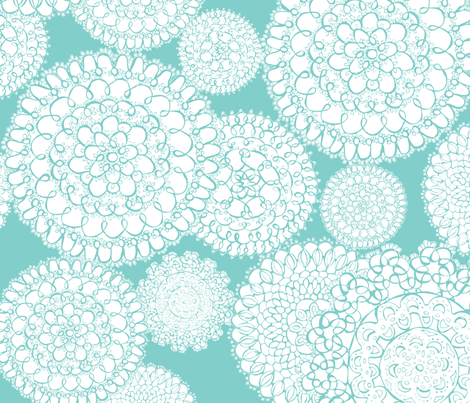 tiffany blue wallpaper floral - photo #8