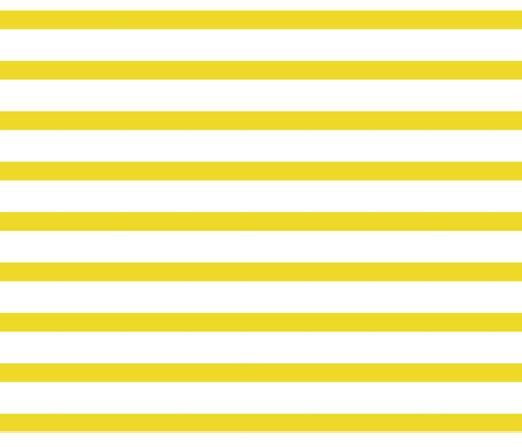 Yellow Lines fabric by jenflorentine on Spoonflower - custom fabric