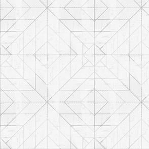 Geometric Lines Gray
