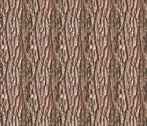 Oak Tree Bark Nature Theme fabric by cutencomfy on Spoonflower - custom fabric