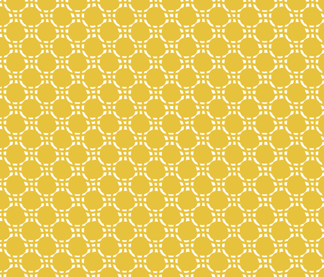 Yellow Weave fabric by jenflorentine on Spoonflower - custom fabric