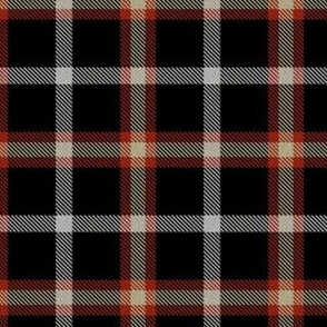 Black Red Cream Plaid