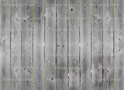 Weathered Gray Barnwood Fence Wood