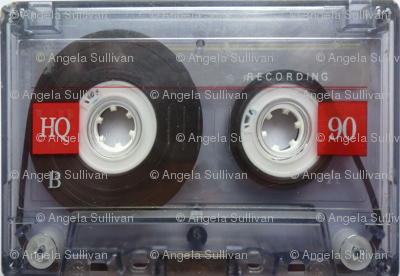 Cassette Tapes Retro Pop Music Mixtape 80's
