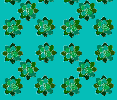 Terrarium fabric by constantlyalice on Spoonflower - custom fabric