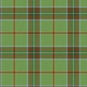 Olive and Brown Plaid