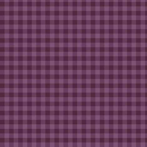 deep mauve gingham fabric by weavingmajor on Spoonflower - custom fabric