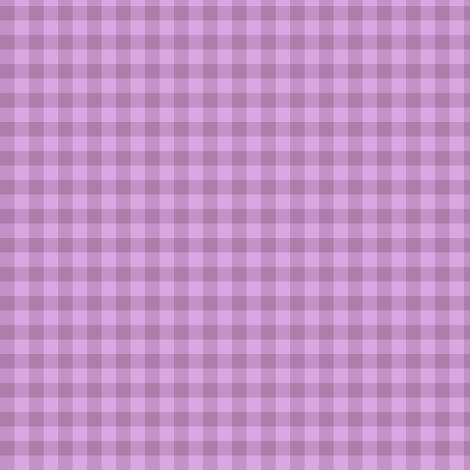 lilac dusk gingham fabric by weavingmajor on Spoonflower - custom fabric