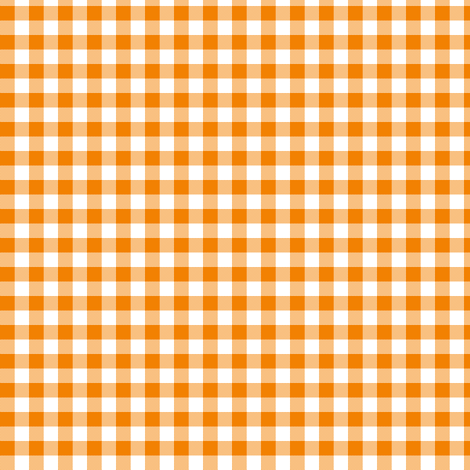 marigold gingham fabric by weavingmajor on Spoonflower - custom fabric