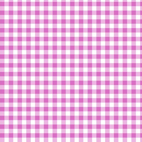 Wild Rose gingham fabric by weavingmajor on Spoonflower - custom fabric