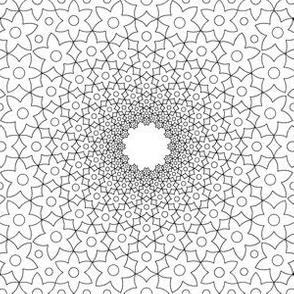03043443 : mandala 12 : inflorescence