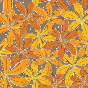 Big orange lily 2