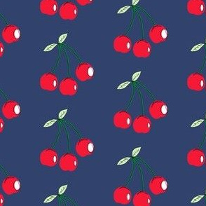 Cherries_navy