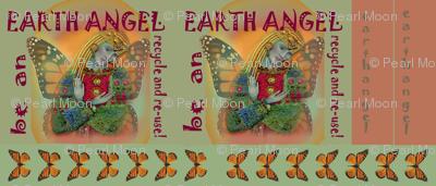 Earth Angel grocery bag