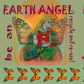 Earth Angel grocery bag