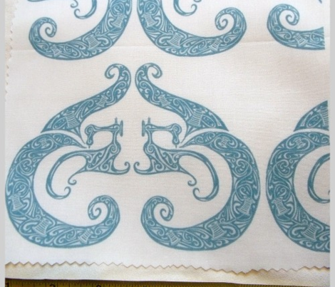 Sew Stylish - White & Soft Teal