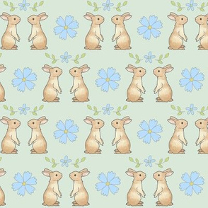 Cornflower Bunnies