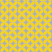 petals (yellow on gray)