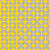 petals (gray on yellow)