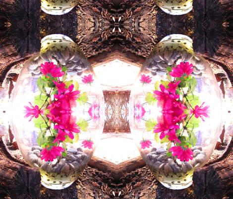 terrarium fabric by saprillika on Spoonflower - custom fabric