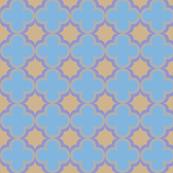 Moroccan starburst Quatrefoils