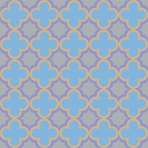 Moroccan clover Quatrefoils