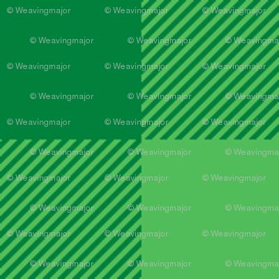 spearmint green gingham