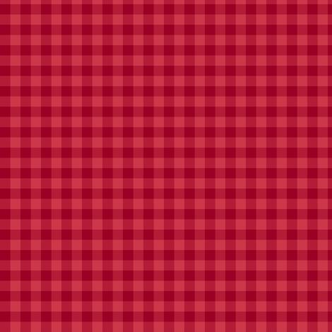 cinnamon candy gingham fabric by weavingmajor on Spoonflower - custom fabric