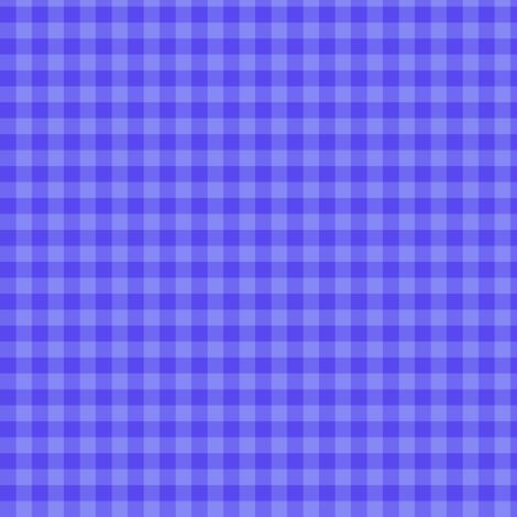 periwinkle gingham fabric by weavingmajor on Spoonflower - custom fabric