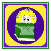 Nancy Dew Drop Doll Square Fabric