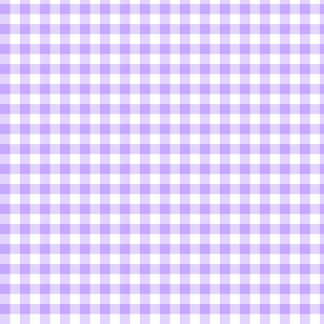 sweet lavender gingham fabric by weavingmajor on Spoonflower - custom fabric