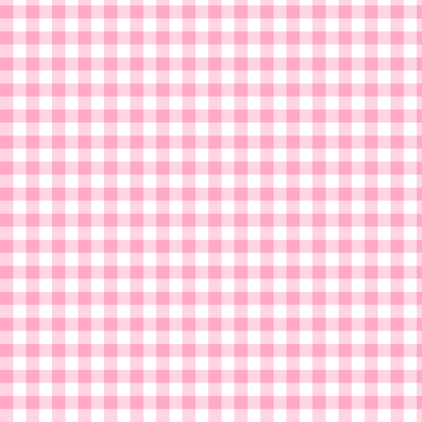 frosting pink gingham fabric by weavingmajor on Spoonflower - custom fabric