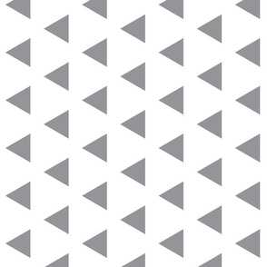 Grey Triangles Rotated