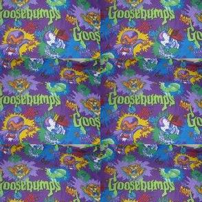 Goosebumps Fabric Wallpaper Gift Wrap