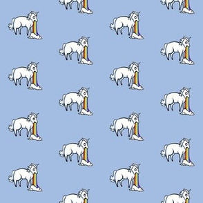 Small Unicorn and Rainbows