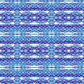 Blue bubble string