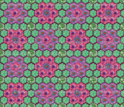 Crocheted Hexagons 2