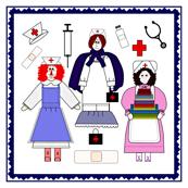 Nurses Fabric 2 Border