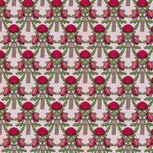 Rroverlapping-pink-waratahs-on-pink-linen-for-wallpaper_shop_thumb