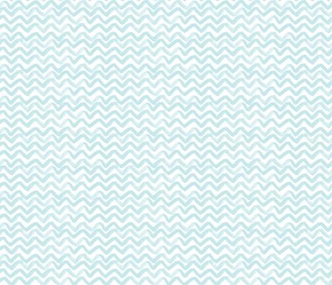 Zig Zag Waves fabric by jillbyers on Spoonflower - custom fabric