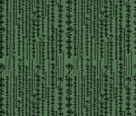 Vulcan Green fabric by costumewrangler on Spoonflower - custom fabric