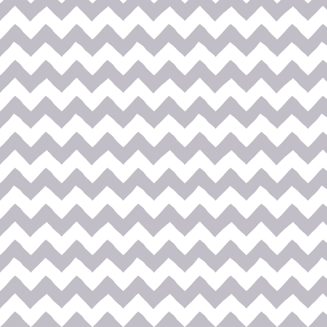 Hand_Drawn_Chevron_Grey fabric by fishkiss on Spoonflower - custom fabric