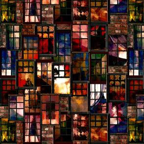 City_Windows_Ser. 2 #3