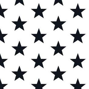 Superstars Black on White-Medium