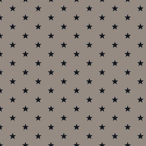 Superstars Black on WarmGray-XSmall