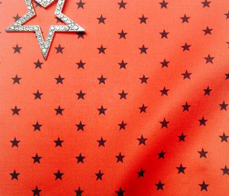Superstars Black on Red-XSmall