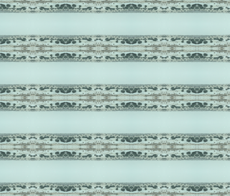 new mexico snow desert stripe fabric by liberation on Spoonflower - custom fabric
